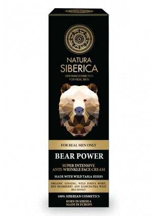 Natura Siberica Men Only Bear Power Anti-rimpel Crème
