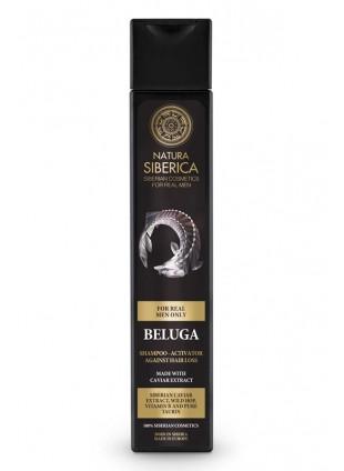 Men Only Beluga Shampoo tegen Haarverlies
